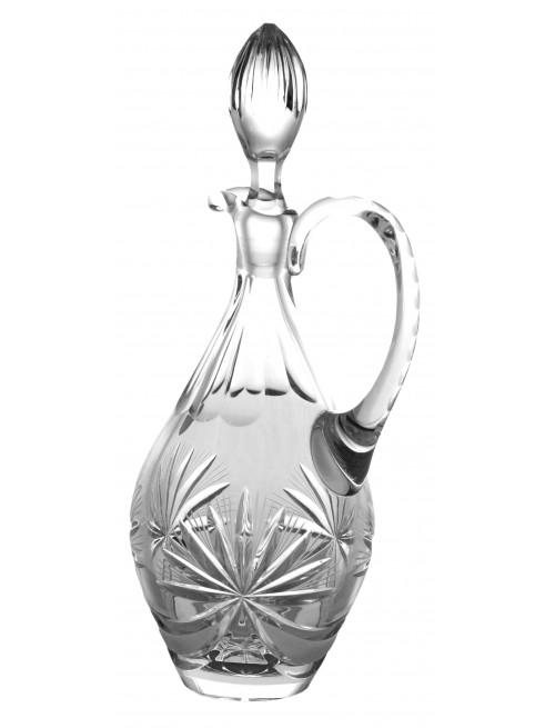 Caraffa Fiocchi, cristallo trasparente, volume 850 ml