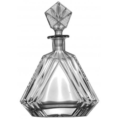 Bottiglia, cristallo trasparente, volume 550 ml