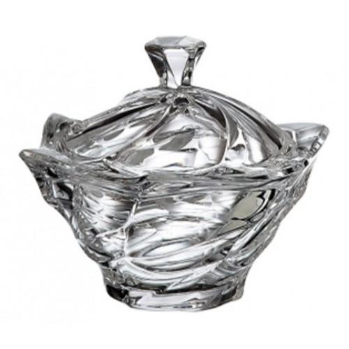 Confettiera Flamenco, vetro trasparente, diametro 130 mm