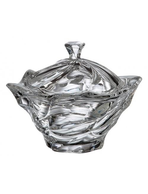 Confettiera Flamenco, vetro trasparente, diametro 205 mm