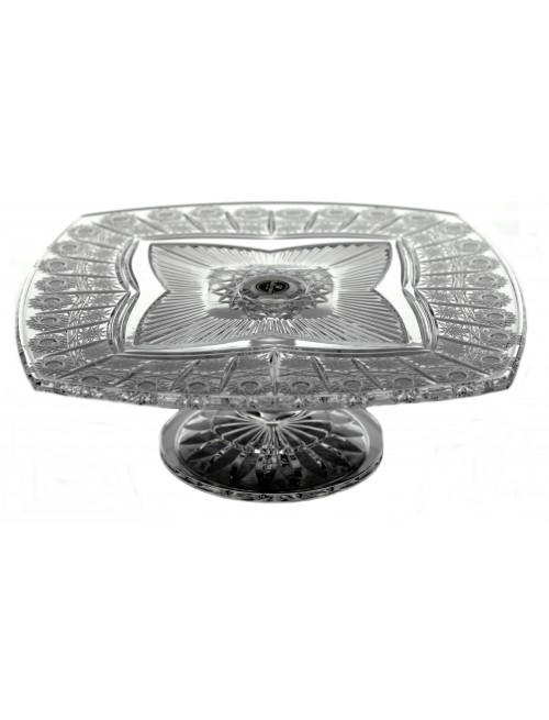 Portafrutta Clemetis 500PK, cristallo trasparente, diametro 330 mm