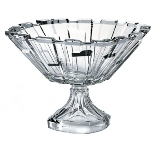 Portafrutta Bolero, vetro trasparente, diametro 310 mm
