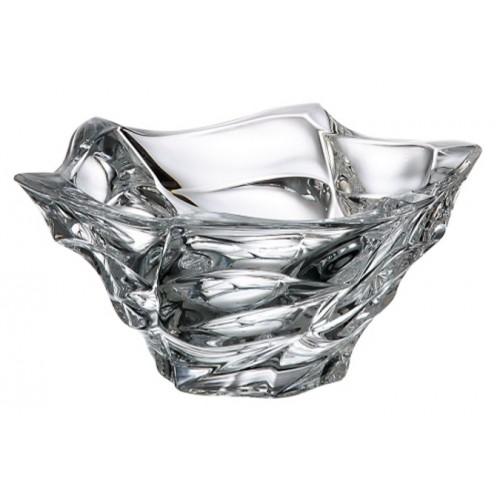 Insalatiera Flamenco, vetro trasparente, diametro 205 mm