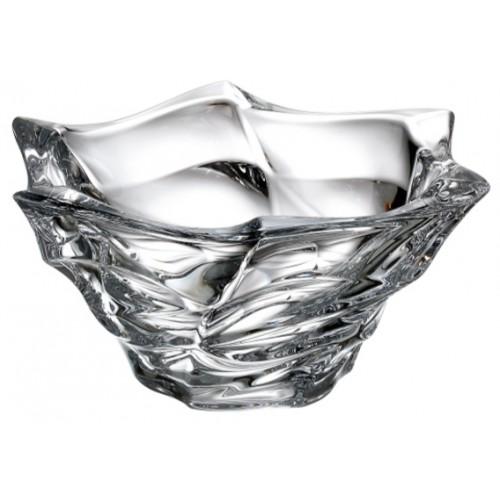 Insalatiera Flamenco, vetro trasparente, diametro 295 mm
