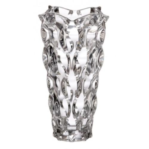 Vaso Samba, vetro trasparente, altezza 305 mm