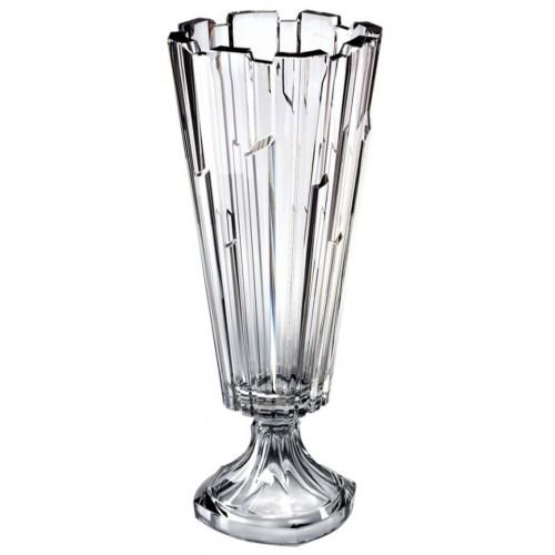 Vaso Bolero, vetro trasparente, altezza 405 mm