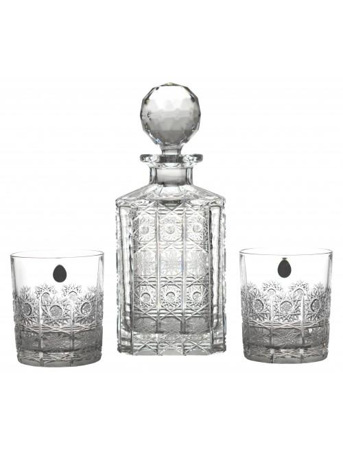 Set Whisky 500PK 1+6, cristallo trasparente, volume 800 ml + 320 ml