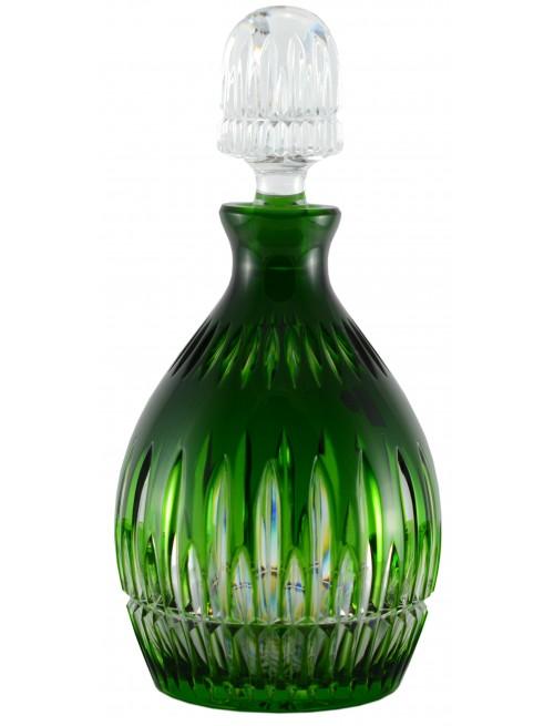 Bottiglia Thorn, cristallo, colore verde, volume 700 ml
