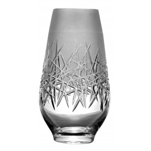 Vaso Hoarfrost, cristallo trasparente, altezza 255 mm